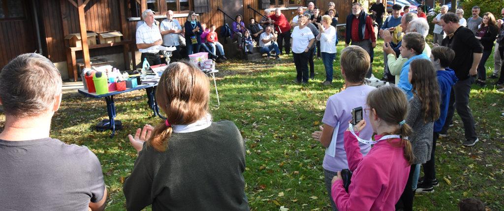 La proclamation des résultats et la remise des prix du rallye culturel 2017 des Amis de la Nature du Bas-Rhin, au chalet Loisirs, 67 Strasbourg Alsace.
