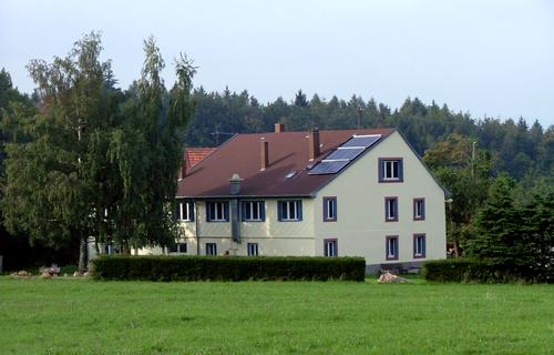 Muckenbach chalet hébergement camping à Grendelbruch - Les Amis de la Nature