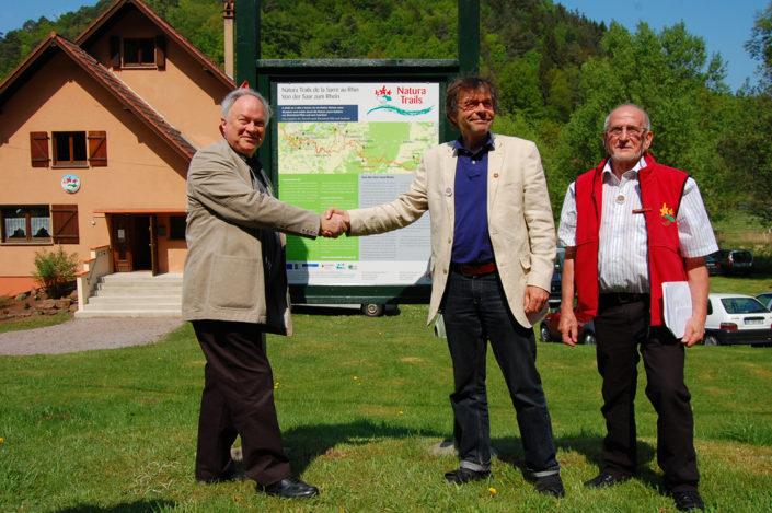 """Le refuge des Amis de la Nature de Sturzelbronn, situé sur le parcours """"Natura trails"""" de la Sarre au Rhin"""