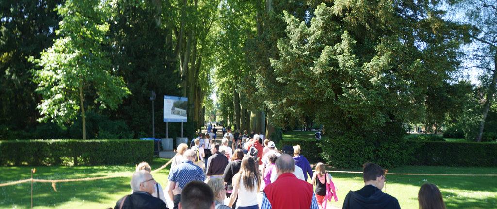 Participants à la journée Multi-activités des Amis de la Nature au parc de l'Orangerie