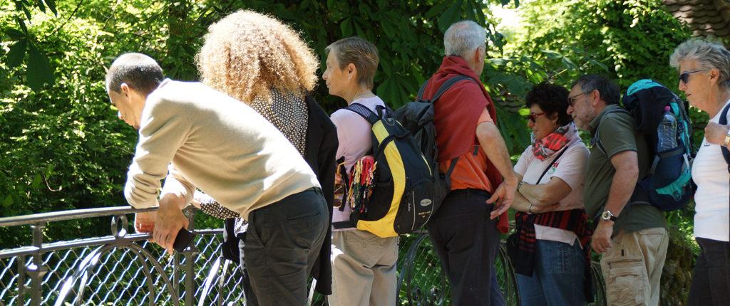 A la découverte des recoins du parc de l'Orangerie