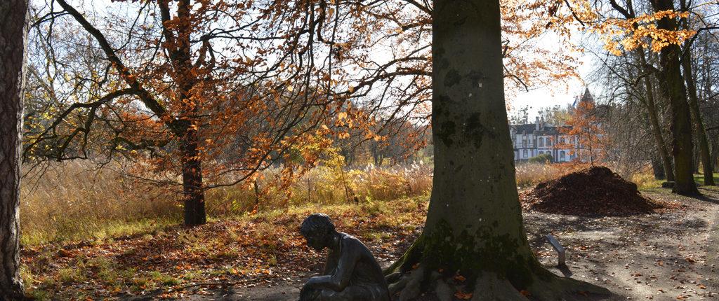 Le parc «à l'anglaise» du château de Pourtalès, un des sites traversés, cette année, par la Marche populaire des AN de Bischheim.