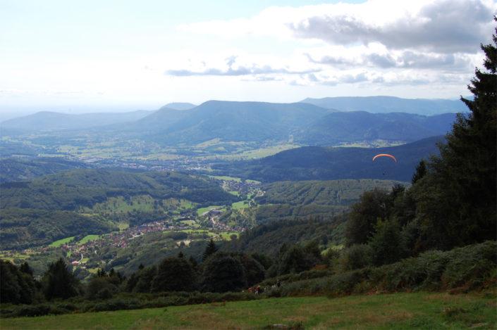 Point de vue sur le Val de Villé au-dessus de Breitenbach dans les Vosges