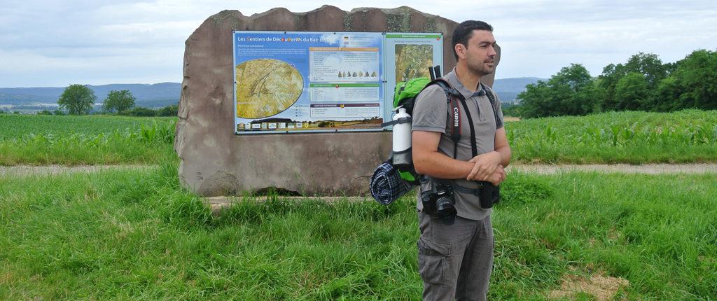 Le guide de la sortie des Amis de la Nature au Bastberg
