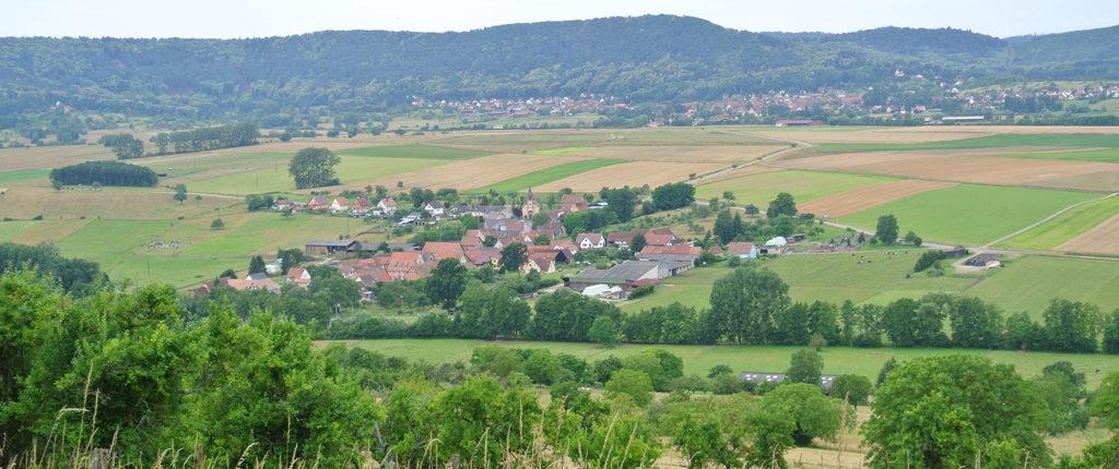 Panorama sur les environs du Bastberg